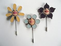 recycled barbie flowers