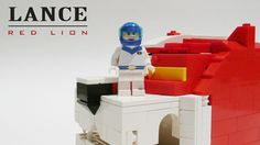 Lance and Red lion LEGO