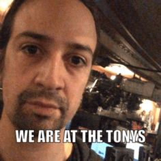 New trending GIF on Giphy. lin manuel miranda tony awards 2016 tonys we are at the tonys. Follow Me CooliPhone6Case on Twitter Facebook Google Instagram LinkedIn Blogger Tumblr Youtube