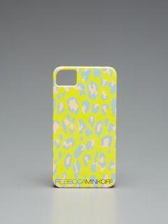 Rebecca Minkoff Leopard iPhone Case