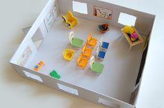 La petite école en carton | Add fun and mix