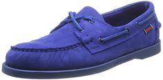 Sebago Docksides, Men's Boat Shoes, Blue (Bright Blue), 7 UK