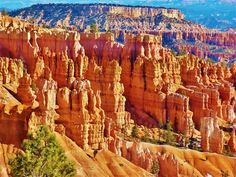Jim Perkins' shot of Bryce Canyon, Utah.
