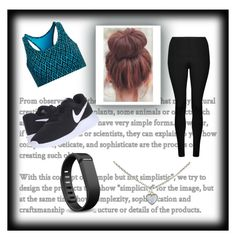 Untitled #285 by isabella31w on Polyvore featuring polyvore fashion style Lorna Jane Tasc Performance NIKE Cartier Fitbit clothing