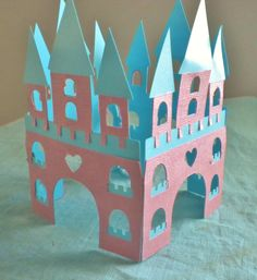 Castle table decoration by nicegifts on Etsy