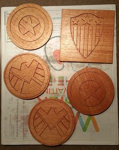 Anyone else making coasters? - Projects - Inventables Community Forum