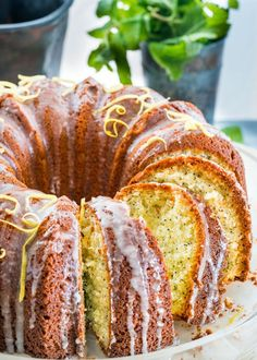This gorgeous Lemon Poppy Seed Bundt Cake is beautifully paired with a sweet lemony glaze resulting in a delicious cake. Perfect with your cup of tea or coffee! I feel like I haven't given you a bundt cake recipe in a long time, so it's about time! I also feel like I've given you lots …