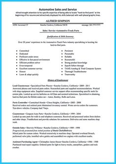 as you are confused about how to write an auto sales resume you
