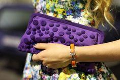 purple handbag :)