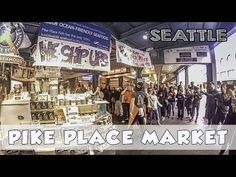 Pike Place Market Original Starbucks Gum Wall Seattle Vlog - YouTube