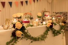 All Décor and Styling provided by Crow Hill Weddings. Fresh Flowers by Roxanne at Lily Blossom.