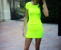 Neon dress!