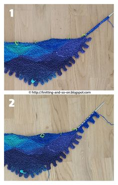 This new playful scarf is great to display the lovely colors of yarn with a long color gradient. It's made up of stacked stitches for the f...