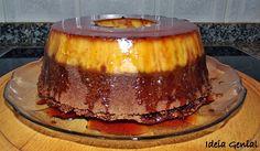 Bolo Pudim com o sabor agradável da laranja - http://www.sobremesasdeportugal.pt/bolo-pudim-com-o-sabor-agradavel-da-laranja/