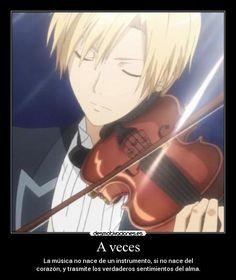 anime violinist | Carteles y Desmotivaciones de anime usui musica violin anime