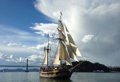 Hawaiian Chieftain in San Francisco Bay. #sailing #travel #adventure
