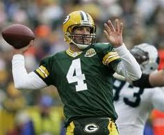 Brett Favre, Quarterback, Green Bay Packers -- an all-time great whose career spanned 20 seasons.