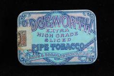 Vintage Tin - Edgeworth Extra High Grade Sliced Smoking Pipe Tobacco - Nice | eBay