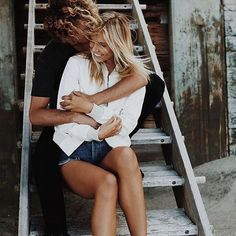 Shared by océ. Find images and videos about girl, love and cute on We Heart It - the app to get lost in what you love. Old Couples, Couples In Love, Jay Alvarrez, Afraid Of Commitment, Dear Future Husband, Come Undone, One Summer, Crazy Love, Cute Couple Pictures