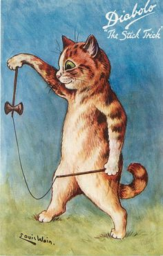Diabolo - The stick trick | Louis Wain