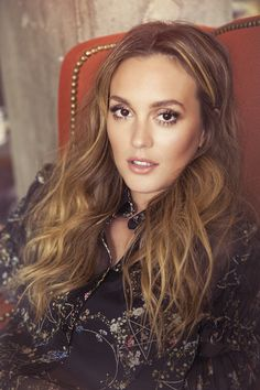 Leighton Meester photographed by Shanna Fisher for Ladygunn Magazine Gossip Girl Blair, Gossip Girls, Moda Gossip Girl, Gossip Girl Fashion, Leighton Meester Hair, Leighton Marissa Meester, Blake Lively, Pretty People, Beautiful People