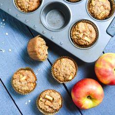 quinoa vollkorn apfel muffins