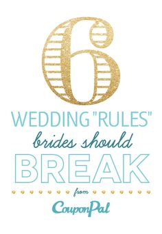 6 Costly Wedding Rules Brides Should Break photo   The Budget Savvy Bride