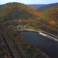 Horseshoe Curve, Altoona PA I've been here so many times I can't even count. Its so pretty!