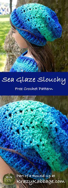 Crochet Beanie Pattern Free Slouchy Hooks 65 Ideas For 2019 Poncho Au Crochet, Bonnet Crochet, Crochet Poncho Patterns, Hat Patterns, Crochet Ideas, Crochet Projects, Kids Crochet, Clothes Patterns, Crochet Designs