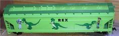 Toy Story 1 Rex Train Rex the Dinosaur Disney car HO Scale - Go Shop Hobbies & Toys Disney Toys, Disney Pixar, Trains For Sale, Dinosaur Train, Hobby Toys, Shopping Places, Ho Scale, Radio Control, Hobbies And Crafts