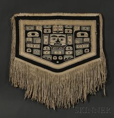 Northwest Coast Child's Chilkat Blanket | Sale Number 2563B, Lot Number 388 | Skinner Auctioneers