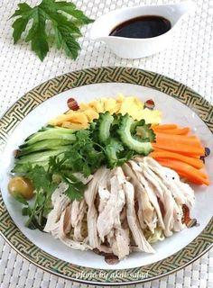 ゴーヤと蒸し鶏の冷やし中華 by お美津さん | レシピブログ - 料理 ...