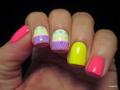 Born Pretty Store: Colorful Pattern Water Decals : http://tuxarina.blogspot.com/2014/09/born-pretty-store-colorful-pattern.html