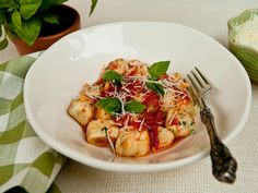 Ricotta Gnocchi - Yum! Maybe ricotta gnocchi is easier than potato gnocchi. I've never had much luck with the potato.