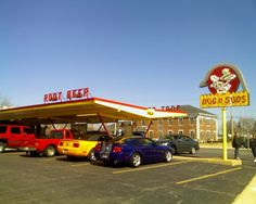Dog N Suds - Had the best root beer and chili dogs - I loved it when my parents would take us to the one in Indianapolis, IN