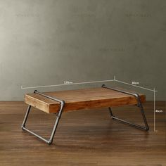 Nordic expression / retro mining / wood furniture / wood Carter Iron Pipe / coffee table / coffee table American