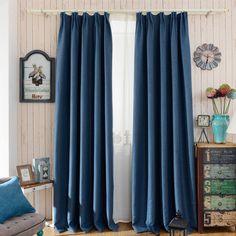 Blackout cortinas cortinas modernas de estilo gancho cortinas ropa de color sólido cortinas del dormitorio sala de estar en casa plana para en Cortinas de Casa y Jardín en AliExpress.com | Alibaba Group
