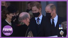 Prince Harry and William Walk Together as Royal Family Departs Prince Ph... Duke And Duchess, Duchess Of Cambridge, Prinz Phillip, St Bridget, Family Channel, Walk Together, Diana, British Royal Families, House Of Windsor