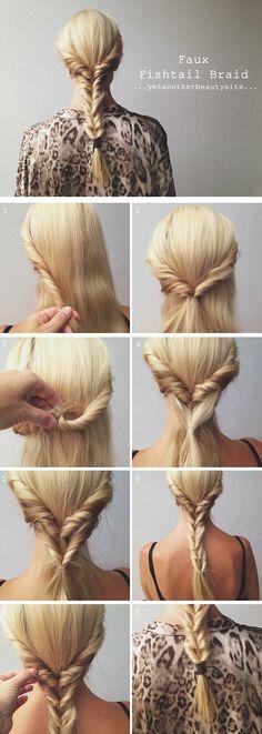 9 peinados fáciles de lograr (para las que no tenemos tiempo ni maña)
