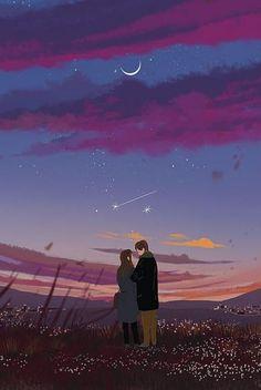 이미지 art anim в 2019 г. art, illustration art и anime art. Cute Couple Art, Anime Love Couple, Couple Illustration, Illustration Art, Stock Design, Cover Wattpad, Enjoy The Little Things, Couple Drawings, Love Painting