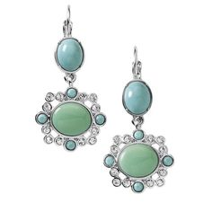 Gorgeous Fondant Drop Earrings NWT Gorgeous Fondant Drop Earrings NWT Retail $38. Regal drop earrings. Never worn. No Stones are missing or any defects. -Soft greens and turquoise tones cascade from this jeweled earrings. Pair with the Fondant Necklace and look like Royalty. Resin in pastel shades of sea green and sky blue and a touch of cut crystal make these sweet earrings the icing on the cake. CARE: Use a soft cloth & water to clean. Do not recommend using soap or detergent to clean your…