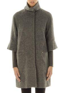 Paul Smith coat.  #fashion #fashflick Paul Smith, High Neck Dress, Coat, Illustration, Fashion Design, Clothes, Black, Dresses, Style