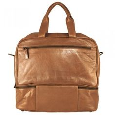 Latico Metallic Gold Leather Vera Weekender Shoulder Bag for $149.99 - in All Sale Items