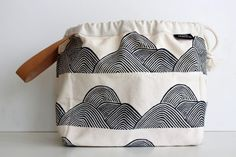 Mountains Limited-edition Field Bag by Jen Hewett for Fringe Supply Co