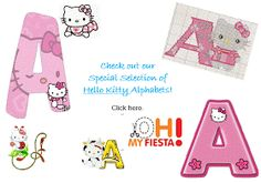 37 Best Hello Kitty Alphabet I Images In 2014 Large