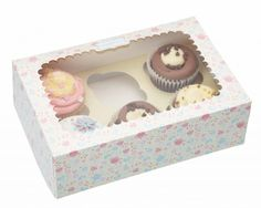 caja cup cakes