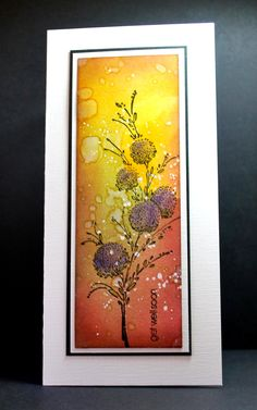 Eileen's Crafty Zone: Rochester Workshop - May 2015 Project Sample 3. A Gold Pen was used for accents. See close-ups on her site.