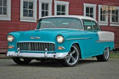 Chevrolet Bel Air 1955 Base for sale online 1955 Chevy Bel Air, 1955 Chevrolet, Chevrolet Bel Air, American Auto, Chevy Muscle Cars, Hot Cars, Custom Cars, Dream Cars, Classic Cars