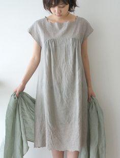 [Envelope Online Shop]Fleurs dress -- love the colour -- love the neckline
