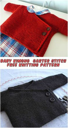 Free Knitting Pattern I chose to record and distribute this example since many individuals had favorited this task in Ravelry… It's the first time recording Knitted Baby Beanies, Knit Baby Sweaters, Baby Knits, Beanie Knitting Patterns Free, Free Knitting, Baby Patterns, Knit Patterns, Baby Kimono, Diy Bebe